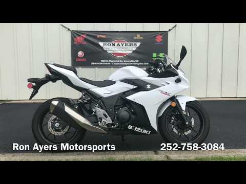 2018 Suzuki GSX250R in Greenville, North Carolina