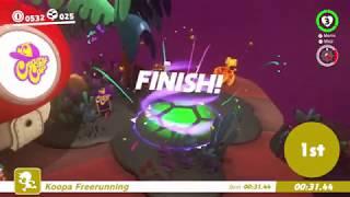 Lost Kingdom Koopa Freerunning Best Route