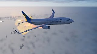 How Ukraine International airlines was brought down by Iran, Video animation of Flight PS752 [XP11]