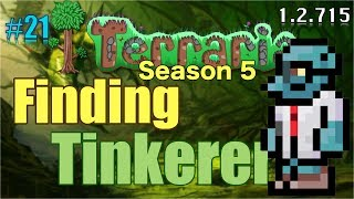 Let's Play Terraria (1.2.715) iOS- Goblin Tinkerer Adventure! Episode 21