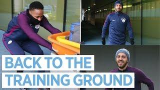ZINCHENKO SINGS ED SHEERAN! | City Squad back in Training