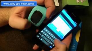 Настройка детских умных часов Q50