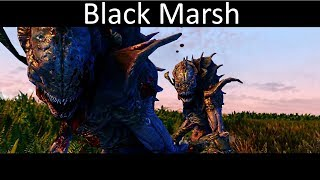 What happens in the swamps of the Black Marsh - New Land Mod