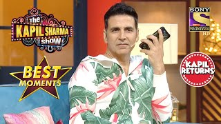 Akshay ने किया King Khan को Call   The Kapil Sharma Show Season 2   Best Moments
