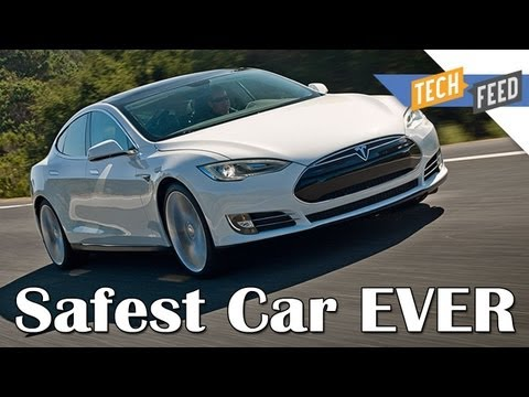 The Safest Car Ever Made – Tesla Model S