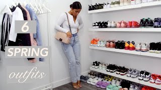 FIRST DAY OF SPRING 2020! SPRING OUTFIT IDEAS | A LOOKBOOK