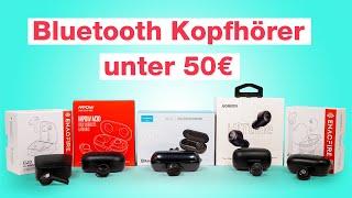 Update 2021 - Unsere Top 5 Bluetooth Kopfhörer unter 50 Euro! - Wer ist der Beste? - Testventure