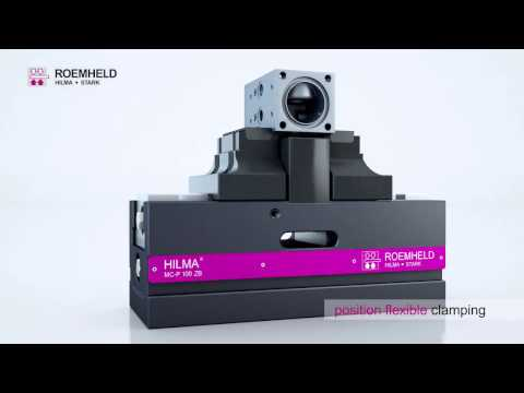 3D Animation HILMA-WS: workholding system MC-P