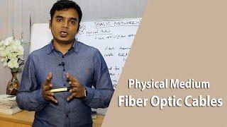 Physical Medium Fiber Optic Cables । Networking tutorial