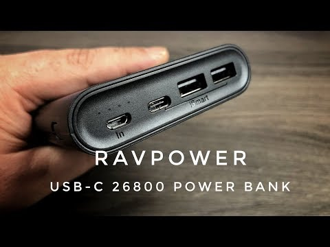 RAVPower 26800 mAh USB-C Power Bank