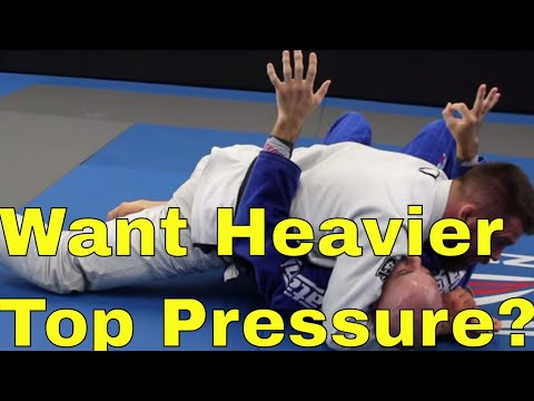 Create Heavy Top Pressure in BJJ With Easy Bodyweight Awareness Tip