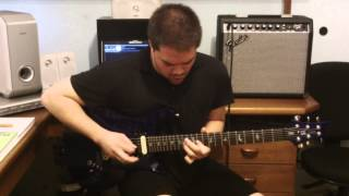 Zwan - Settle Down (guitar solo cover) [HD]