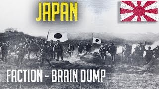 Nation - Japan : Faction Brain Dump - Men of War: Assault Squad 2