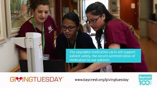 Giving Tuesday 2018 At Baycrest!