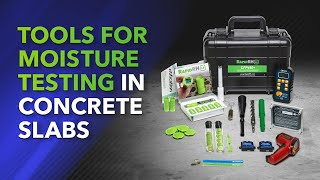 Tools for Moisture Testing in Concrete Slabs