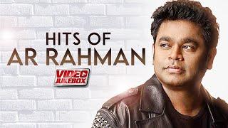 Best Of A R RAHMAN (Video Jukebox) Superhit Bollywood Songs   Popular Hindi Songs   90's Songs