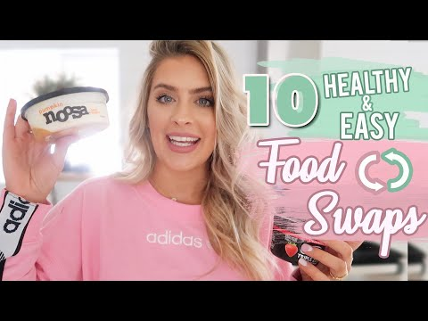 1O HEALTHY FOOD SWAPS