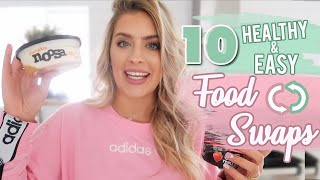 1O HEALTHY FOOD SWAPS