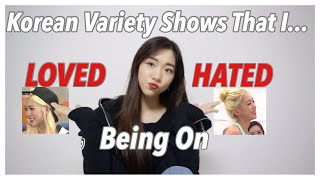 Korean Variety Shows that I Loved and Hated Being On | IDOL INSIDER 🔍