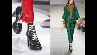 Туфли 2017 года модные тенденции ВЕСНА-ЛЕТО фото НОВИНКА