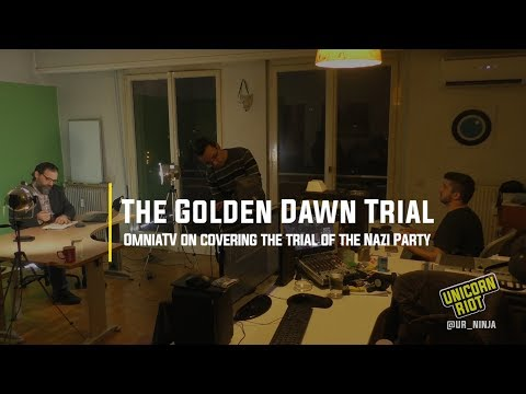 OmniaTV on Covering the Golden Dawn Trial