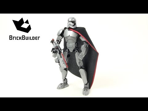 Конструктор Decool «Капитан Фазма» 9022 (Star Wars 75118) 82 детали
