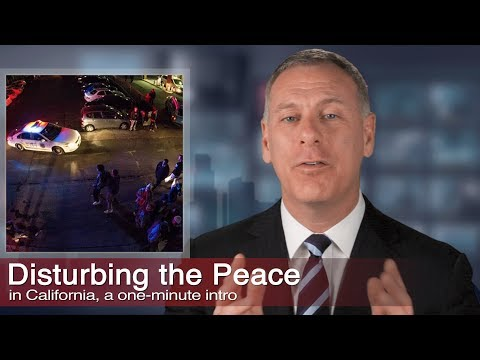 Disturbing the Peace -  Videos
