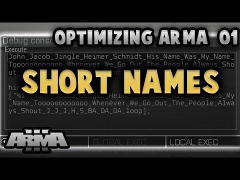 Steam Community :: Video :: Optimizing ArmA 01 - Short Names