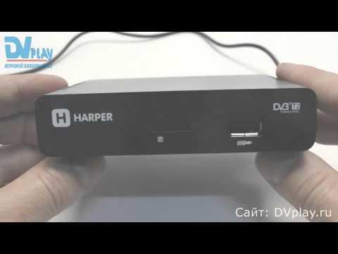 Harper 1005 - обзор DVB-T2 ресивера