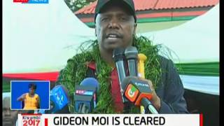 Baringo Senator Gideon Moi among those cleared by IEBC today