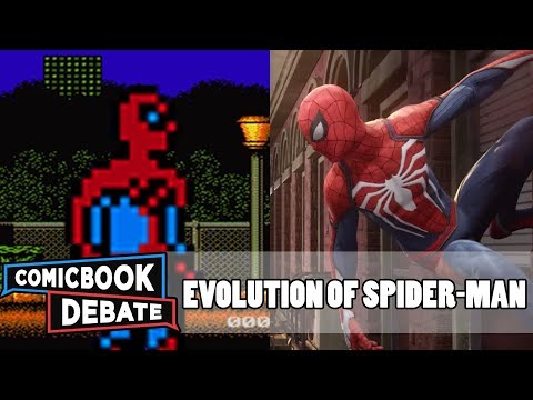 Evolution of Spider-Man Games in 9 Minutes (2017)