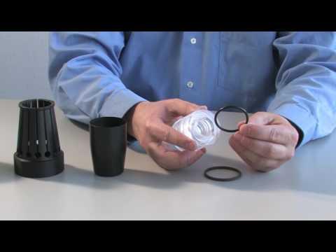 Montage von Kolbendichtungen mit  Merkel Montagewerkzeug von Freudenberg Sealing Technologies