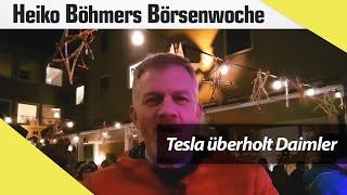 Tesla überholt Daimler