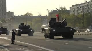 Victory Day Parade Rehearsal 2018 Репетиция парада Победы. Техника едет на Тверскую