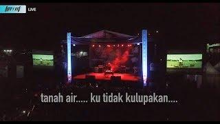 Ketika LAGU NASIONAL Di Konser EDM - ALFFY REV LIVE In Concert 2 Stage - Part 2