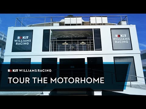 Image: WATCH: Inside the Williams F1 motorhome