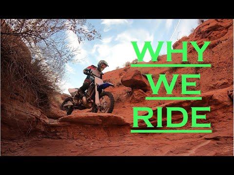 Why We Ride   Husqvarna 300 Trail Blazing