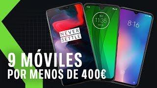 9 móviles por menos de 400€