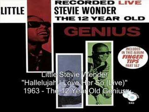 Hallelujah I Love Her So (Song) by Little Stevie Wonder