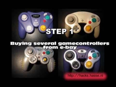 DIY One-Handed Gamepad