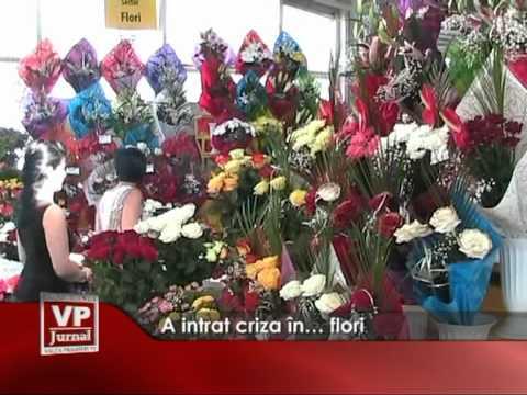 A intrat criza în… flori