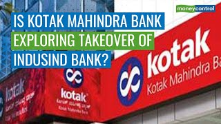 Is Kotak Mahindra Bank Exploring Takeover Of IndusInd Bank? - Download this Video in MP3, M4A, WEBM, MP4, 3GP
