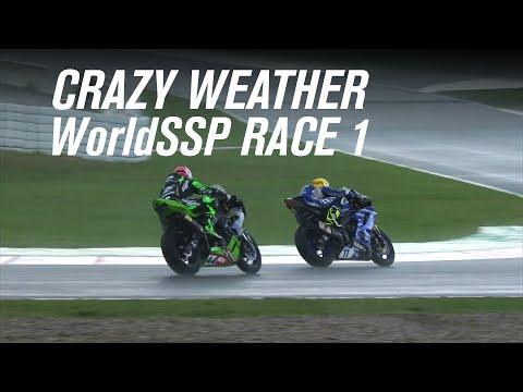 スーパーバイク世界選手権 SBK 第6戦スペイン(カタルニア・サーキット)決勝レース1の激しすぎるラストラップのハイライト動画