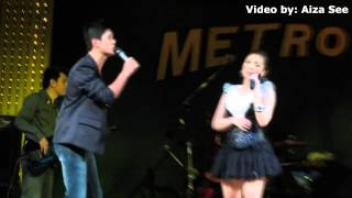 Nina Unleashed   In your eyes duet with Kristofferson August 3, 2012 at Metro Concert Bar