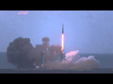 Raw video: Orion's launch from the Vehicle Assembly Building