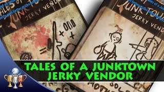 Fallout 4 Tales of a Junktown Jerky Vendor Comic Book Magazine Locations (8 Issues)