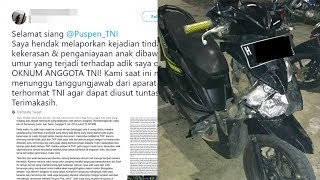 Oknum TNI Diduga Aniaya Anak di Bawah Umur, Kakak Korban Tulis Surat Terbuka hingga Respons Kapendam
