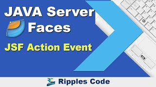 Learn JSF Action Event    JSF Tutorial    Part 38