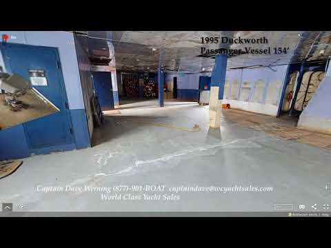 Duckworth Passenger Vessel video