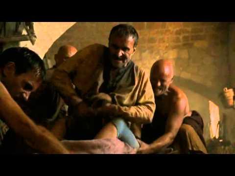 Sandor Clegane Saves Sansa Stark's Life - Game of Thrones 2x06 (HD)